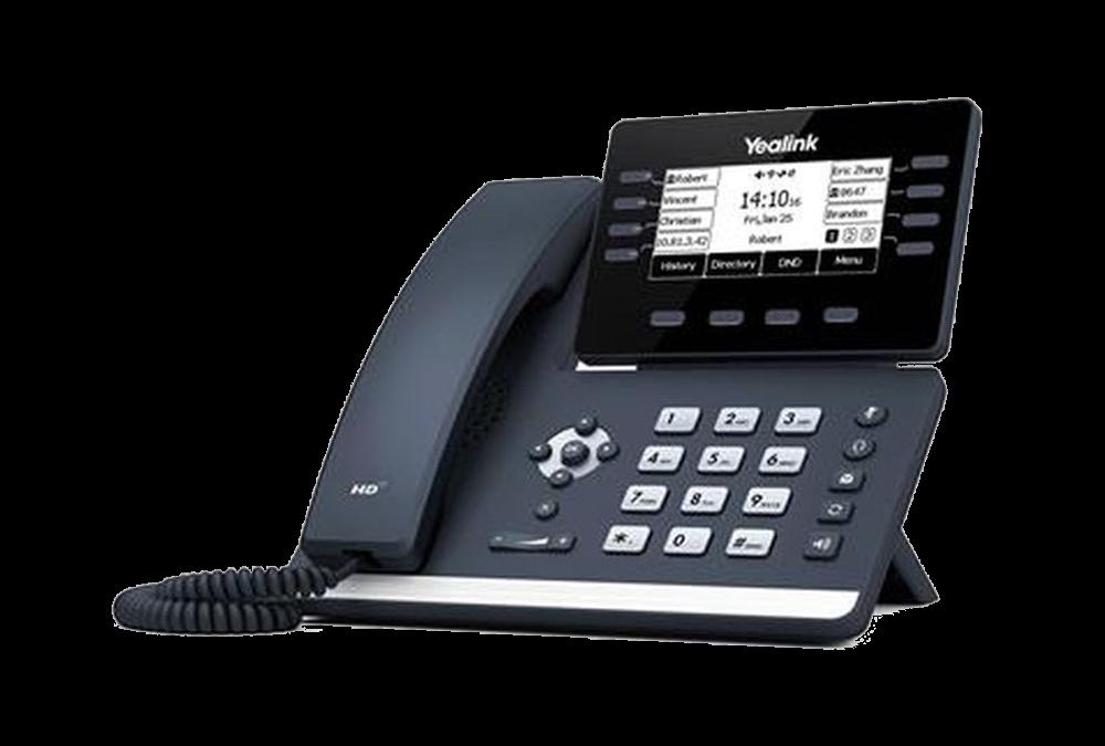 Yealink T53W Téléphone SIP PoE