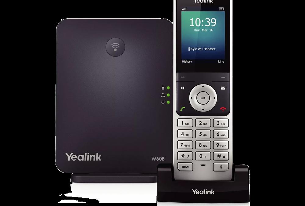 Yealink W60P Téléphone sans fil avec base