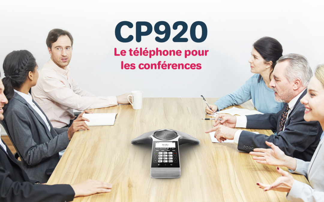 CP920 : Le téléphone pour les conférences
